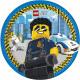 LEGO City Paper plate 8 pcs 23 cm FSC