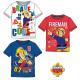 Kinder-T-Shirt, Top- Fireman Sam , Sam das Feuer