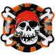Pirate, Pirate Paper Plate 6 pcs 23 cm