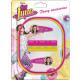Disney Soy Luna hair clips, hair rubber, headbands
