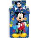 DisneyMickey bed linen cover 140 x 200 cm, 70 x 90