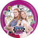 Maggie And Bianca, Maggie And Bianca Paper Plate