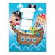 Pirates Treasure Hunt, Pirate Gift Bag z 6 sztuk