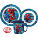 Spiderman Geschirr, Mikroplastik-Set