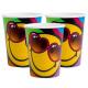 Emoji paper cup 8 pcs 266 ml