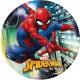 Spiderman , Talerz papierowy Spider-Man 8 szt. 23