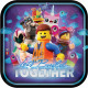 LEGO Movie, LEGO Adventure Paper Plate con 8 pieza