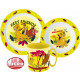 Disney The Lion King tableware, micro plastic
