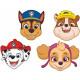 Paw Patrol , Paw Patrol Mask, Maske mit 8 Stück