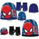 Dzieci czapka + rękawiczki ustawione Spiderman Spi