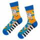 SOXO GOOD STUFF calzini colorati da uomo in zebre