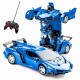 Convertible remote control car Blue