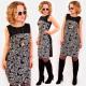A1013 Elegant Dress, Pencil Line, Roses