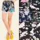 Sommer-Shorts, Spitze und Blumen für Damen M-2XL55