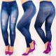 4708 Leggings Jeans, Beaux trous, taille haute
