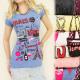G183 MODA blusa superior, algodón PARIS LAMOUR