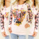 K159 Candy Sweatshirt, Print Silence Says A Lot
