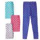 4457 Leggins for Girl 104-152, Polka Dots