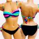 4612 Women Swimsuit, Neon, Aztec Style