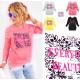 A870 Womens Sweatshirt, Print: Jeden Tag schön