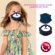 Kinderschutzmaske, 2 Lagen, Teddybär, 4-8 D5870