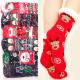Frauen dicke Socken mit Fell, ABS, 4933