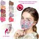 Máscara protectora con bolsillo para filtro, color