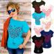 K487 Loose Blouse, Women's T-Shirt , Balloon H