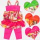 A19116 Sommer Set für Mädchen von 4-12 Jahren