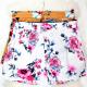 Women Summer Shorts, Loose Flowers, 3-5XL C17789