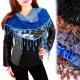 B10A17 Lovely Bandana, Headscarf, Lace Tassels
