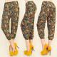 C1719 LOOSE PANTS 3/4 , RETRO SHORTS, HAREMS