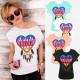 K624 Cotton Women Shirt Plus Size, Hippie Love