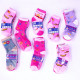 Childrens socks, cotton , Mix of Patterns, 27-38