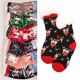 Kinder dicke Socken mit Fell, ABS, 4937