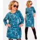 Robe sweat-shirt A1005, coton, motifs