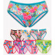 4352 Bamboo Women's Panties, Roses Pattern, M-
