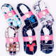 Velor Ballerina Slippers 35-42, Pattern Kratka, 48