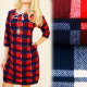 C11290 Lovely Dress, Tunic, Neckline with Twine