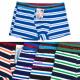 Fiúk Boxer rövidnadrág, színes csíkok, 110-152, 54