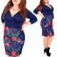 4231 Chic Dress, Tulip Line, Sweet Roses