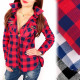 BI648 Loose, Comfortable Shirt, Tunic, Lattice