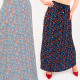 C17693 Women Maxi Skirt, Pleated, Mix of Designs