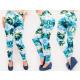 4487 Charming Leggings, Pattern frozen Flowers