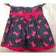 D423 Skirt for girls, in bows, 98-134