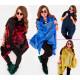 EM18 Fur Women Jacket, Vest, Poncho, Mix Colors