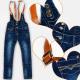 A19236 Mädchen Jeans Hosen, 140-164