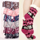 Women's Thick Socks with Fur, ABS, 4932