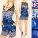 C17144 Fashionable Summer Jumpsuit, Lace Insert