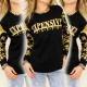 K148 Decorative Sweatshirt, Expensive Taste print